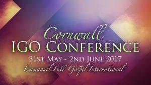 IGO Holiday Convention @ Emmanuel Full Gospel Church | Pool | England | United Kingdom